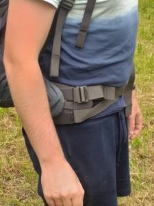 osprey xenith hüftgurt tragesystem
