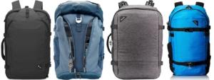 diebstahlsichere schnittsichere rucksäcke für handgepäck